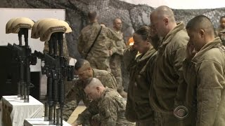 Bodies of American soldiers killed in Afghanistan returned to U.S.