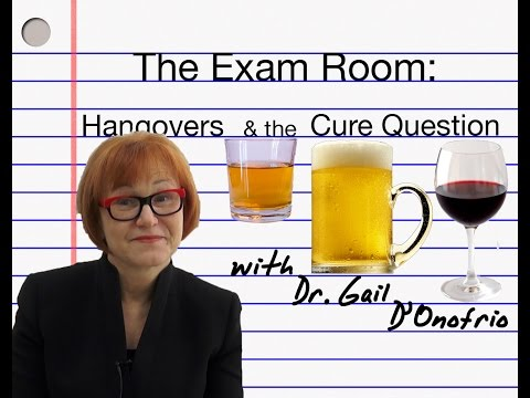 The Exam Room: Hangovers and the Cure Question