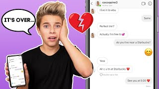 CATFISHING Coco To See If She CHEATS  **SHOCKING** | Gavin Magnus ft. Coco Quinn