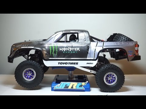 Building Recoil 4 Monster Energy Trophy Truck - JPRC GS2 RC Trophy Truck