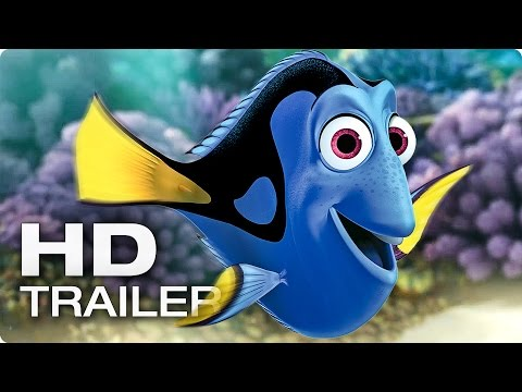 FINDING DORY Official Trailer 2016