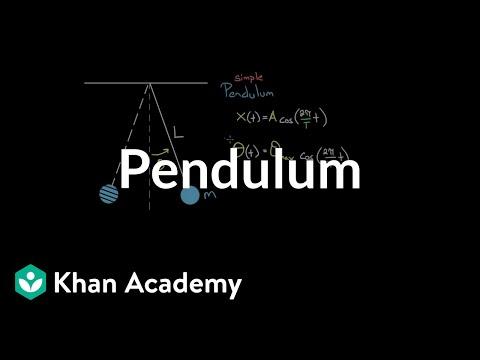 Pendulums | Oscillations and mechanical waves | Physics | Khan Academy