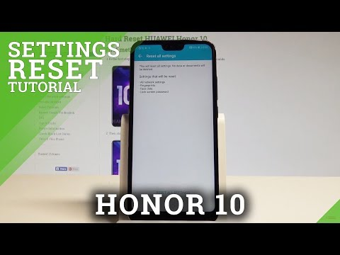 How to Reset Settings on Honor 10 - Restore Default Configuration |HardReset.Info