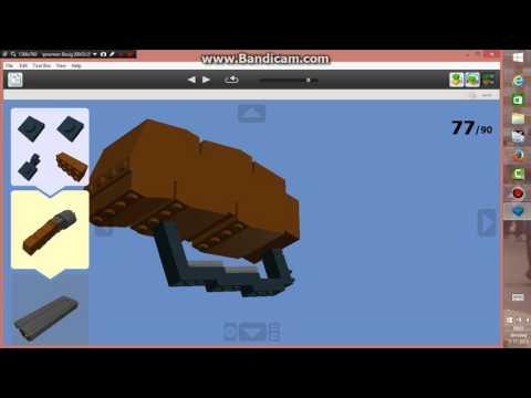 TF2 lego scattergun instructies