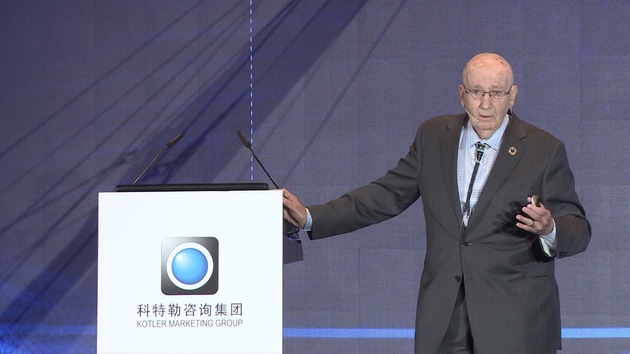 Philip Kotler -The Father of Modern Marketing-Keynote Speech-The Future of Marketing