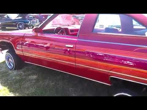 East Side Riders Car Club 1976 Chevy Lowrider Stockton Impala's Magazine Car Show