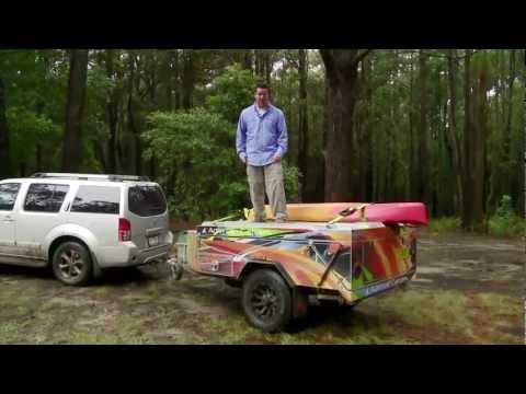 Adrenalin Campers Hard Floor Camper Trailer