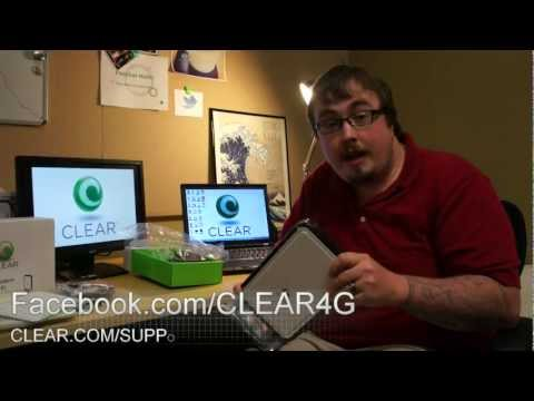 CLEAR Home Modem with Wi-Fi Unboxing