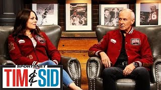 Tara Slone, Ron MacLean Prepare To Embark On 6th Season Of Rogers Hometown Hockey   Tim and Sid