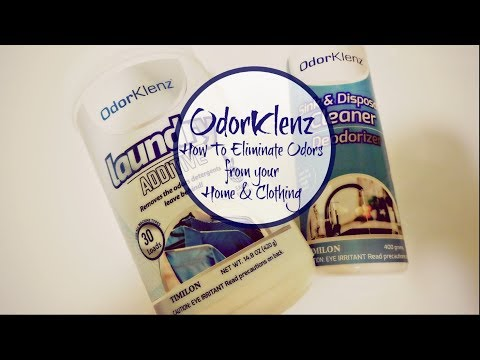 OdorKlenz  | How to Eliminate Odors from Your Home and Clothing