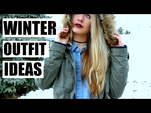 5 Winter Outfit Ideas | Winter OOTW