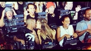 Ariana Grande Rides Harry Potter Roller Coaster At Universal Studios Orlando