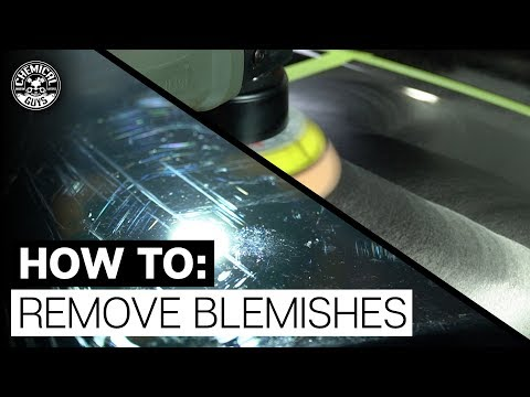 How To Remove Scuffs and Scratches: Quick Polish | Chemical Guys