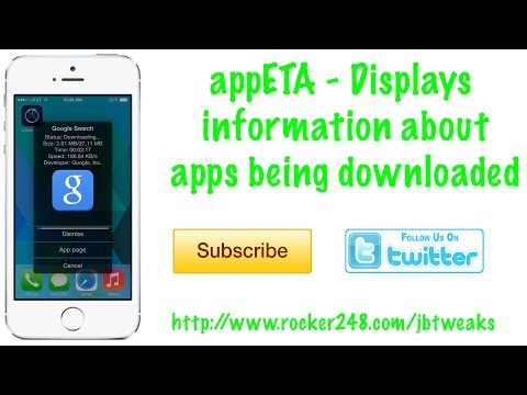 appETA - Information about App Store downloads