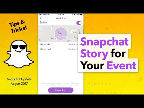 How to Create a Snapchat Story for an Event