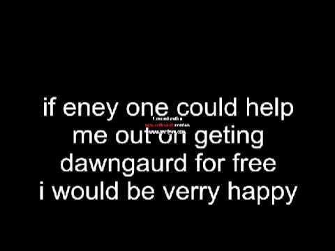 skyrim dawnguerd free