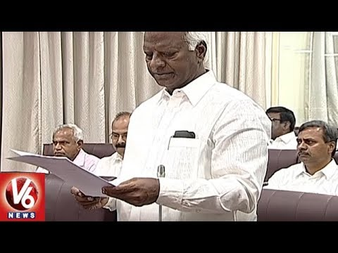 TS Legislative Council | Deputy Chairman Suspends Congress MLCs From House | V6 News