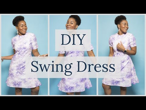How to Make a Swing Dress w/ Peplum Hem