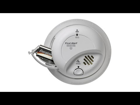 How To Change Smoke and CO Alarm Batteries
