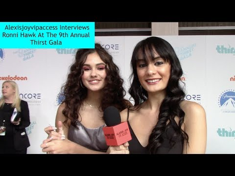 Ronni Hawk Talks About On My Block - Alexisjoyvipaccess Interview - 9th Annual Thirst Gala