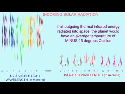 greenhouse gases absorb outgoing infrared radiation