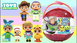 Download Disney Pixar TOY STORY 4 Custom L.O.L. Doll Giant Ball Surprise with Forky Video