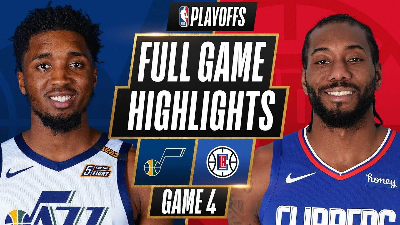 #1 JAZZ at #4 CLIPPERS | FULL GAME HIGHLIGHTS | June 14, 2021