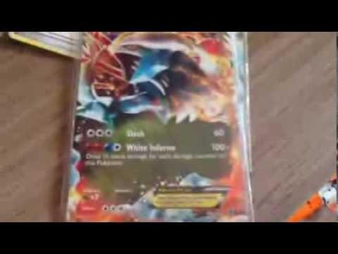 Carta pokemon-white kyurem EX e mais bobo alegre