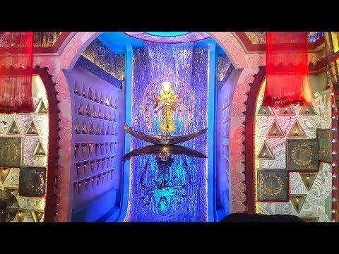 Shiv Mandir Durga Puja 2017 -Theme based Durga Puja | Fishing World