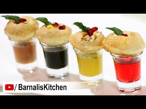 Panipuri Shots Recipe - Pani Puri Recipe- Golgappa Shots - How to make Panipuri Shots -