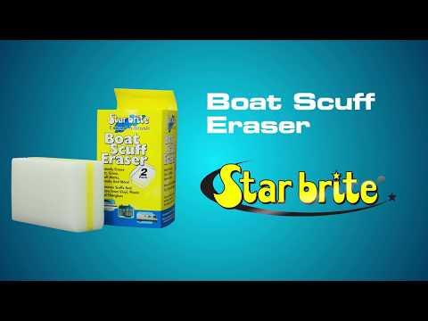 Ultimate Magic Sponge - Boat Scuff Eraser - Pool Waterline Cleaner