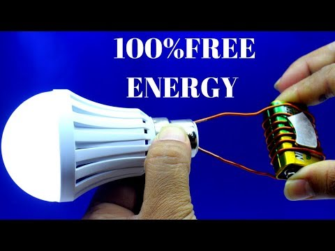 Free Energy Device Light For Lifetime - Free Energy Generator Using Copper Wire