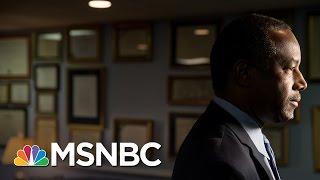 Tough Confirmation Hearing For Ben Carson   Morning Joe   MSNBC