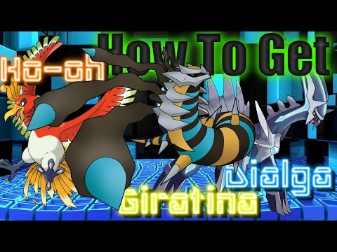 Pokémon White Version 2 Playthrough (Episode 12) How To Get Giratina, Dialga and Ho-oh!