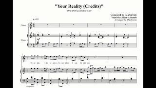 Your Reality piano tutorial | Doki Doki Literature Club!