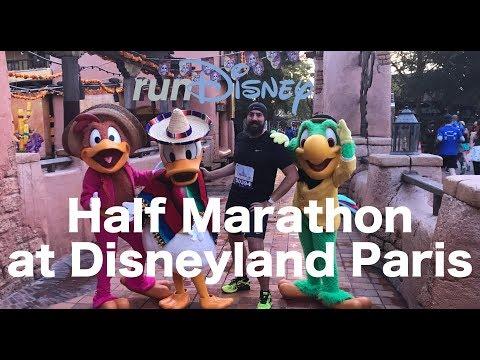 Half Marathon at Disneyland Paris 2017