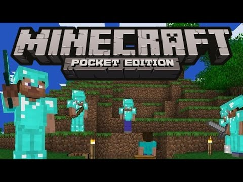 Minecraft Pocket Edition Gameplay - Kindle Fire HD7