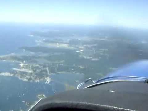 Flying Over Groton, CT