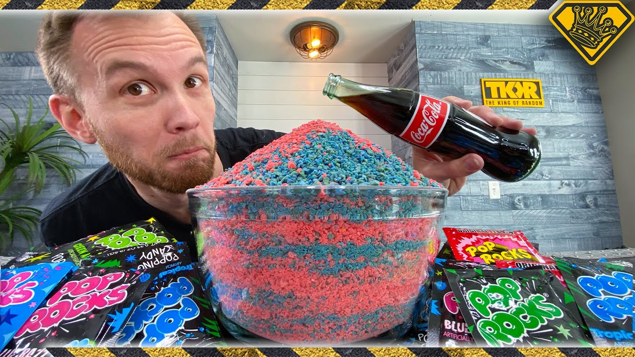 500 Packs of POP ROCKS