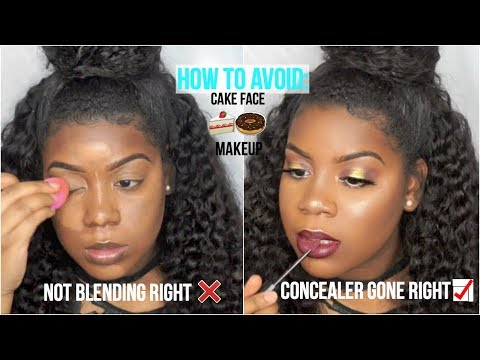 Full Coverage CAKE FREE Foundation for WOC | CONCEALER HACK, DO's & DONTS of Foundation