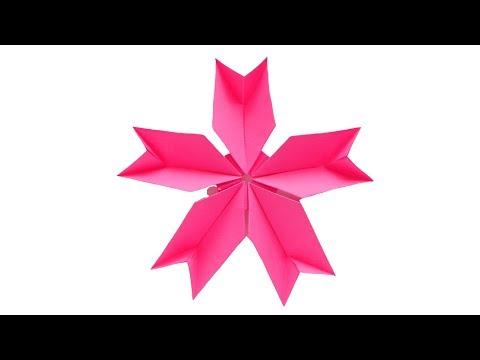 Гвоздика из бумаги 🌸Оригами цветы своими руками