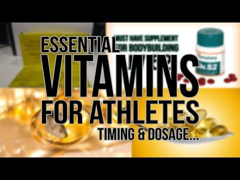 Essential Vitamins supplements for Athletes & Runners | Timings & Dosage...