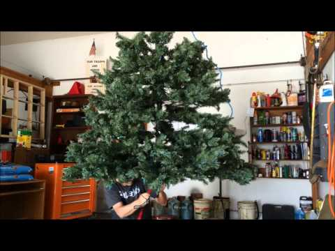 Separating our Costco Artificial Tree