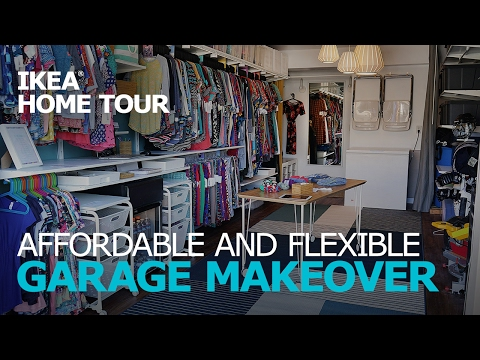 Garage Organization & Storage Ideas – IKEA Home Tour (Episode 302)