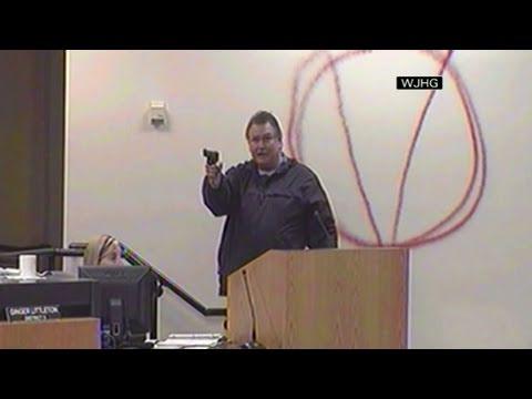 CNN: Man opens fire at Florida school board meeting