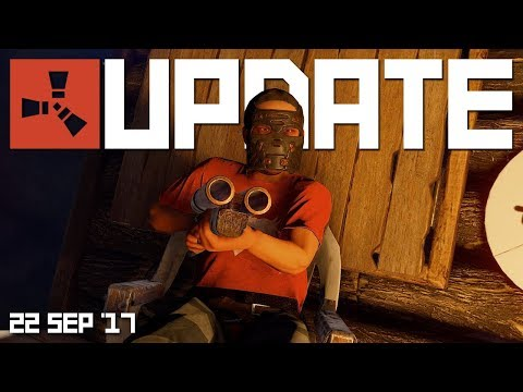 SITTING IN CHAIRS & DRIVING VEHICLES | RUST update 22nd September 2017