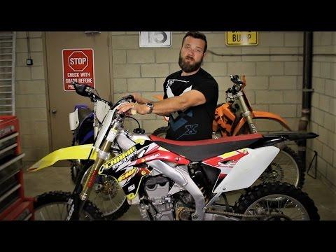 Dirt bike setup tips for motocross beginners - handlebars and levers