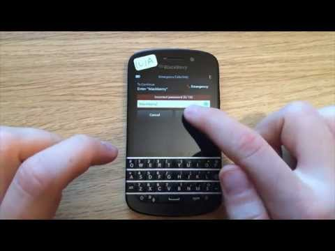 How to remove/Bypass any password on a Blackberry phone