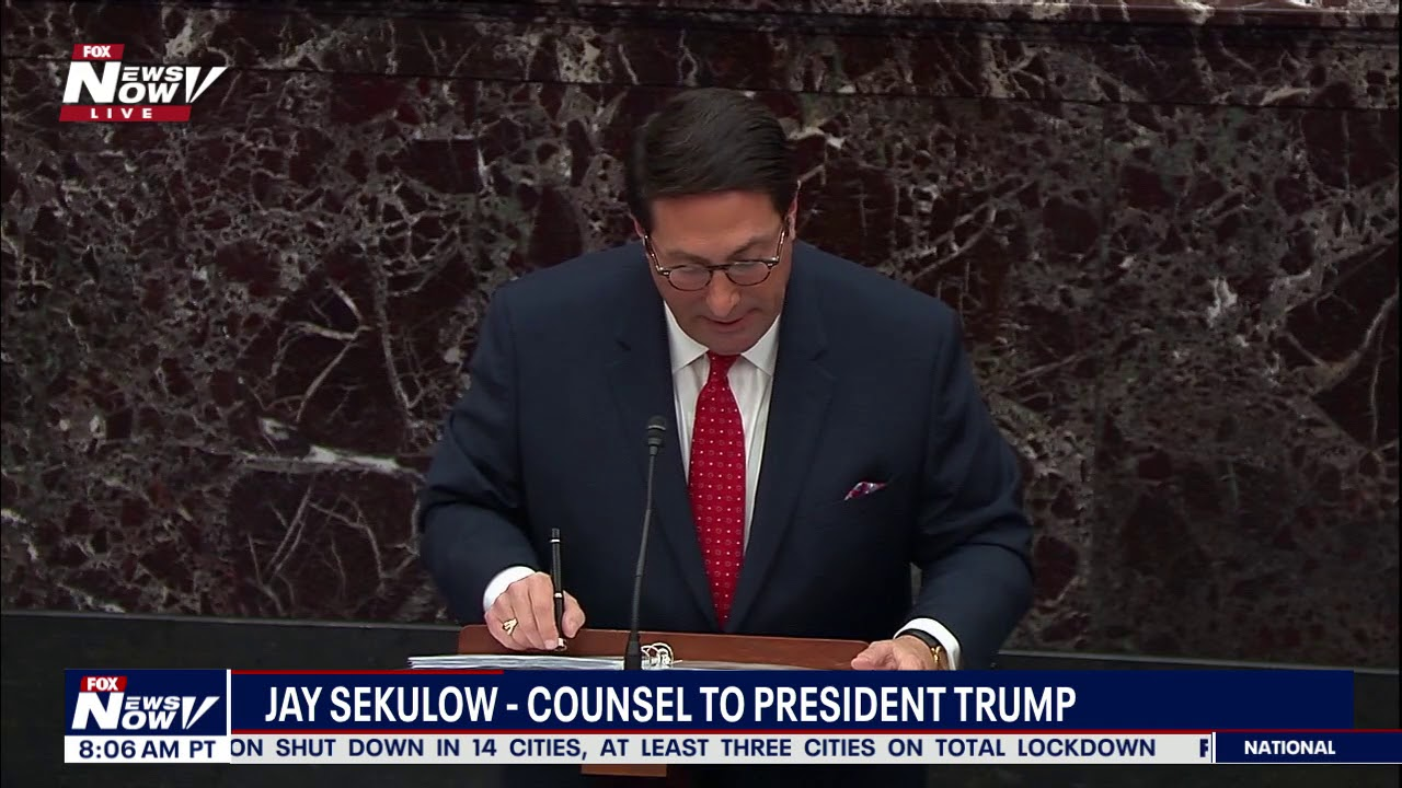 TIME TO END THIS: Jay Sekulow TEARS Into Democrats Case On President Trump Impeachment