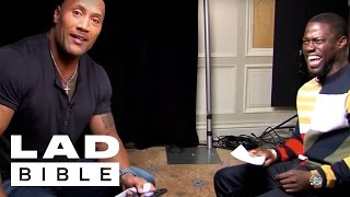 Roles Reversed -Dwayne (The Rock) Johnson Impersonates Kevin Hart